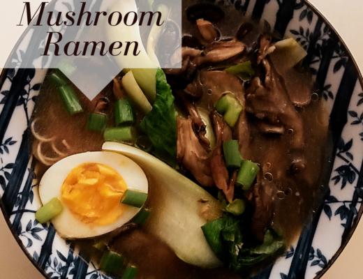 Wild mushroom ramen